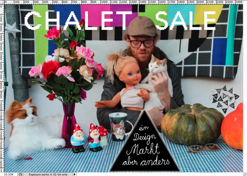 chalet sale flyer